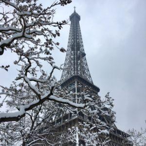 Paris sous la neige!