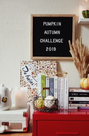 Mes lectures de l'automne – Pumpkin Autumn Challenge 2019