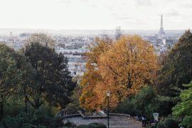 Paris bucolique #22 – Le Parc de Belleville en Automne
